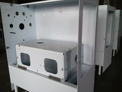 Electric Control Cabinet - Structure & sheet product